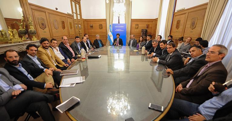 Reuni n de delegados de la srt en el ministerio del for Ley del ministerio del interior
